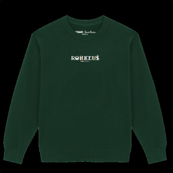 Nordic Buddies Alphabets Erwachsene Sweat Shirt langarm ROHKEUS