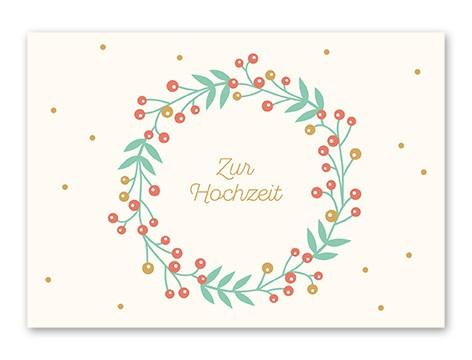 Tante Trudel Karte Zur Hochzeit