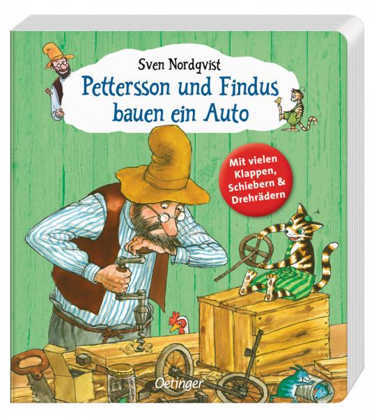 Buch - Pettersson und Findus bauen ein Auto