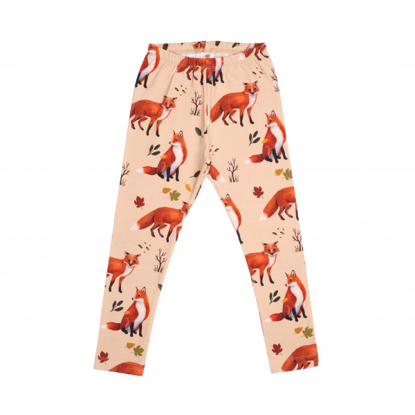 Walkiddy Leggings Red Foxes