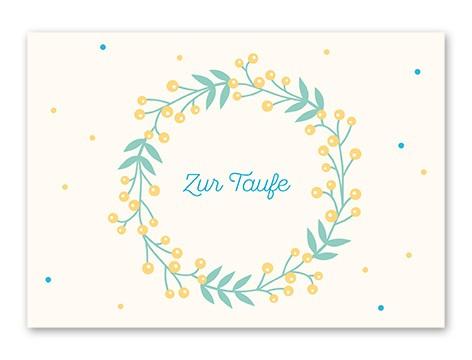 Tante Trudel Karte Zur Taufe