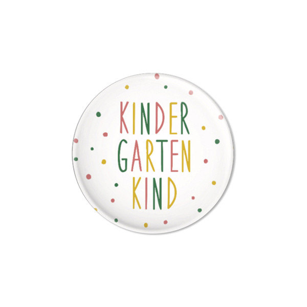 Ava & Yves Button Kindergartenkind Konfetti rosa