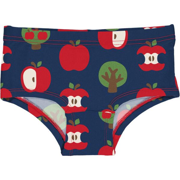 Maxomorra Mädchen Unterhose Apple