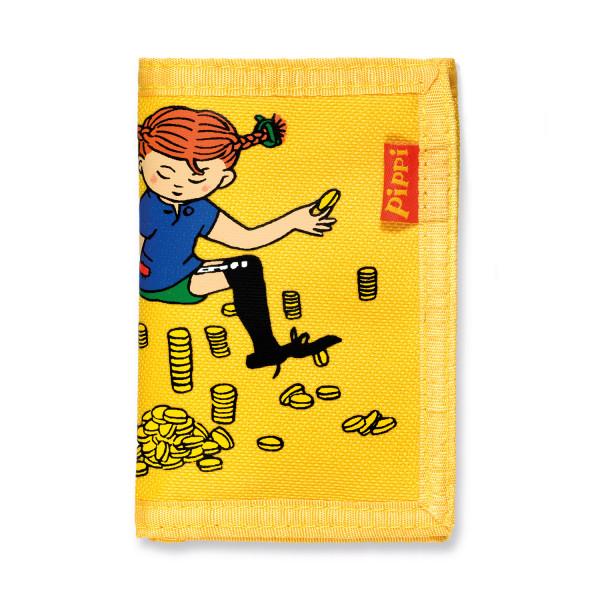 MICKI Pippi Geldbörse gelb