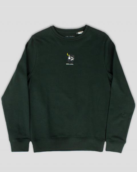 Nordic Buddies Stinky Unisex Erwachsene Sweat Shirt langarm