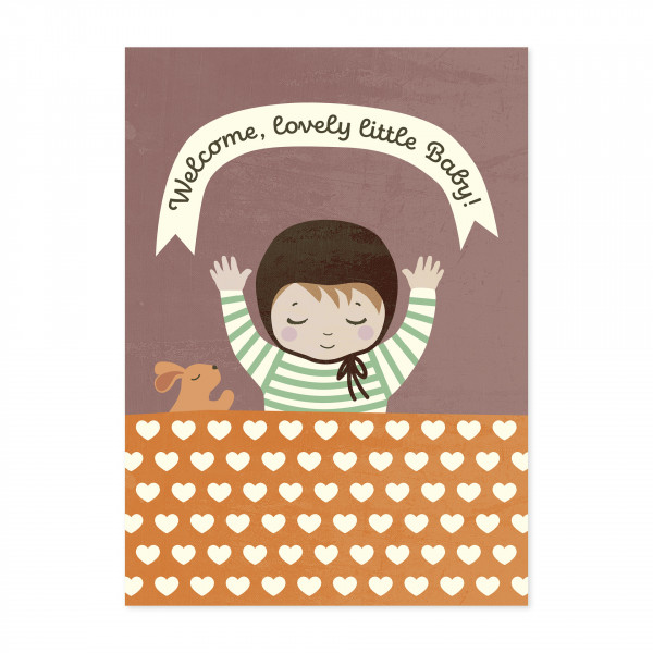 Monimari Karte Welcome Baby