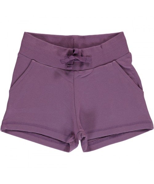 Maxomorra Sweat Shorts Dusty Purple