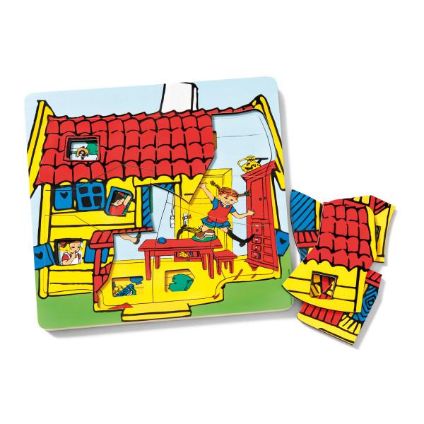 MICKI Pippi Langstrumpf Lagenpuzzle