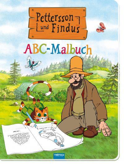 Buch - Petterson und Findus ABC Malbuch