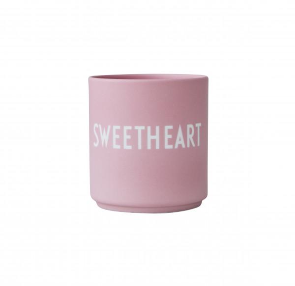 Design Letters Porzellan Becher Favourite Cups Sweetheart