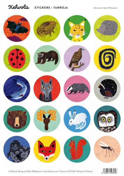 Kehvola Sticker Nordic Animals