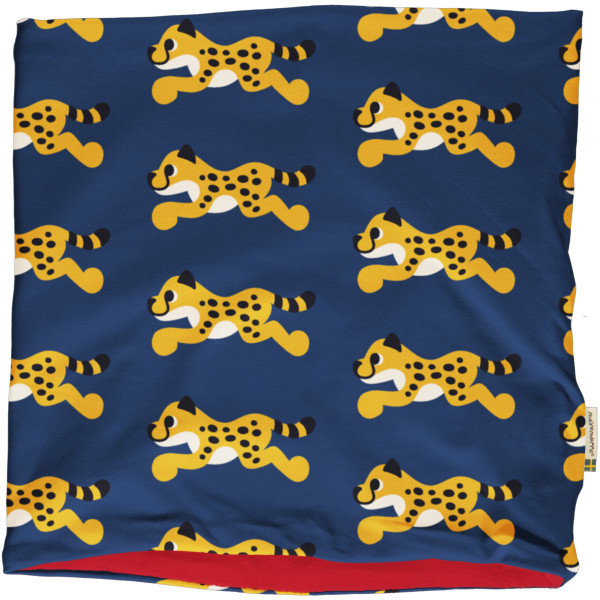 Maxomorra Loop Schal Velour Cheetah
