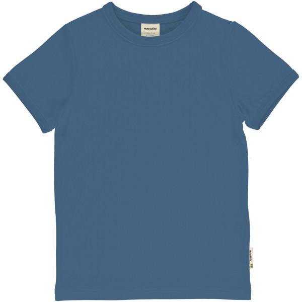 Meyadey Shirt Kurzarm Moonlight Blue