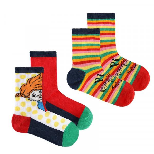 Martinex Pippi Socken colourful 2er Pack
