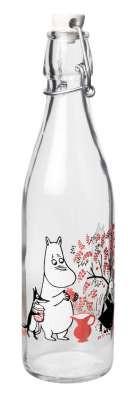 Muurla Mumin Beeren Glasflasche 0,5 Liter