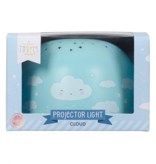 A Little Lovely Company Projektorlampe Wolke