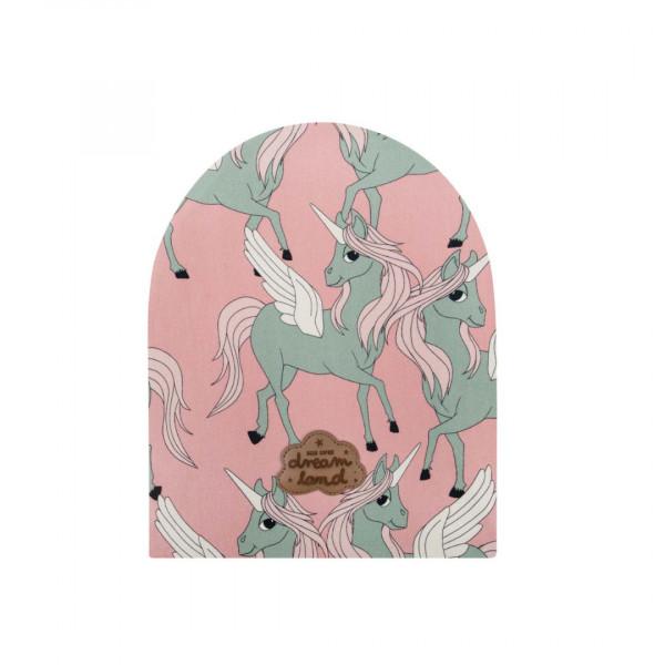 Dear Sophie Mütze Pegasus pink