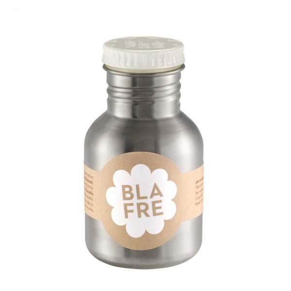 Blafre Edelstahlflasche weiß