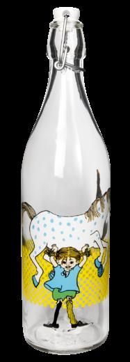 Muurla Pippi Langstrumpf Glasflasche 1 Liter