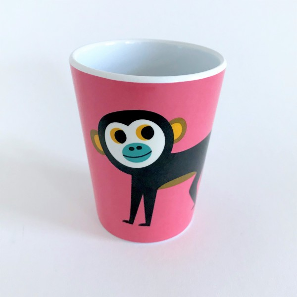 OMM Design Becher Affe