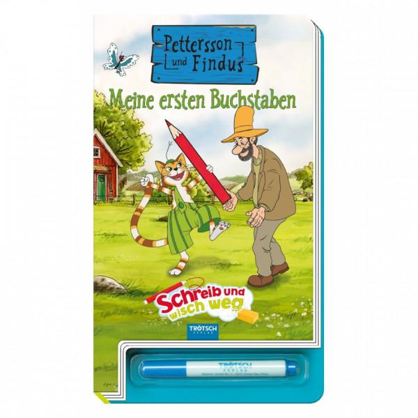 """Buch - Petterson und Findus Meine ersten Buchstaben """"Schreibe und wisch weg"""""""