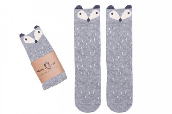 Mamas Feet Kniestruempfe Fox