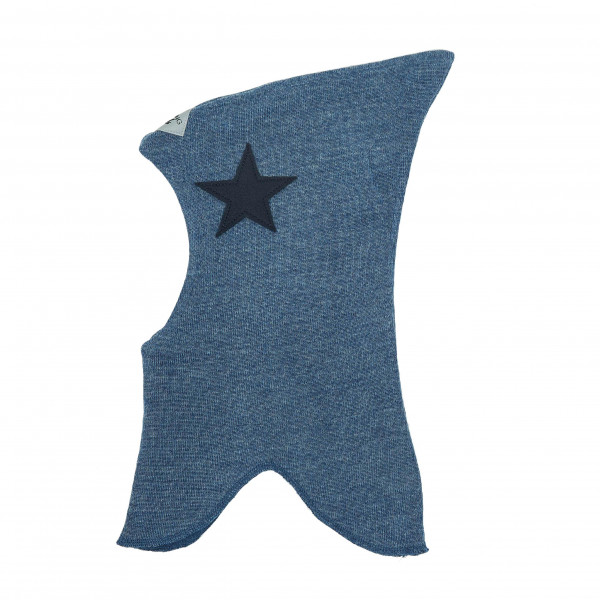 Racing Kids Schlupfmütze Blau mit dunkelblauen Stern