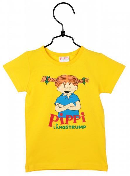 Martinex Pippi Langstrumpf T-Shirt yellow