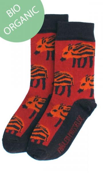 Fräulein Prusselise Socken (Bio) Wildschwein