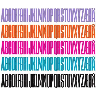 Design Letters Holzbuchstaben ORANGE
