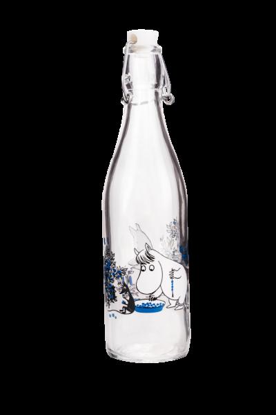 Muurla Mumin Beeren-Wald Glasflasche 0,5 Liter