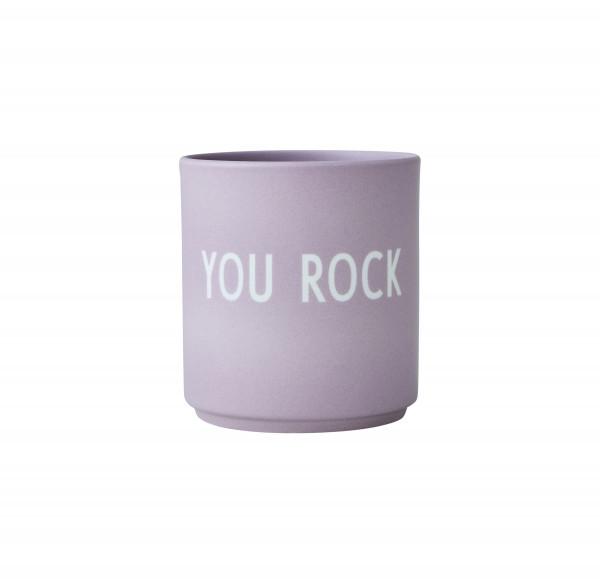 Design Letters Porzellan Becher Favourite Cups You Rock
