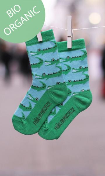 Fräulein Prusselise Socken Krokodil - Bio