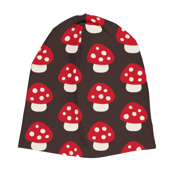 Maxomorra Kindermütze Velour Mushroom