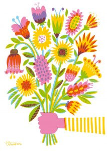 Kehvola Karte Kimppu (Bouquet)