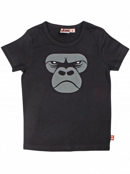 DYR Kurzarmshirt Black Zoom Gorilla