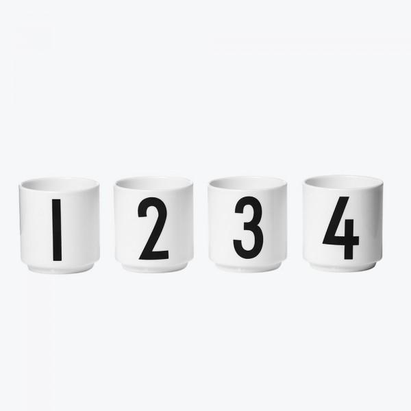 Design Letters Espresso Cups 1-4
