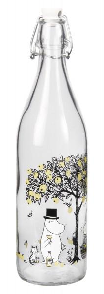 Muurla Mumin Äpfel Glasflasche 1 Liter