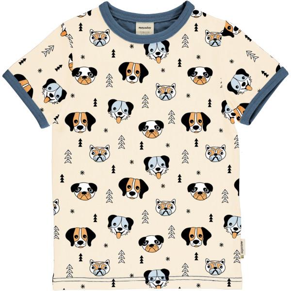 Meyadey T-Shirt Kurzarm Happy Dogs