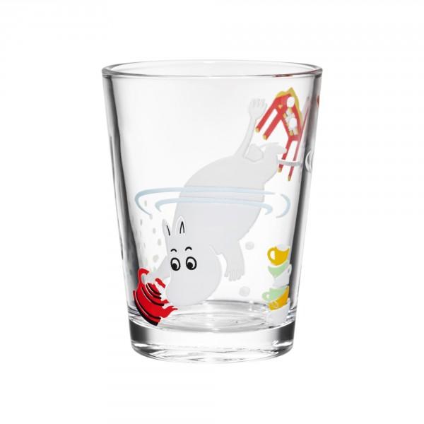 Iittala Glas - Mumin taucht