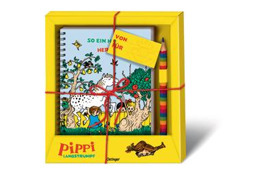 Pippi Langstrumpf Geschenkset