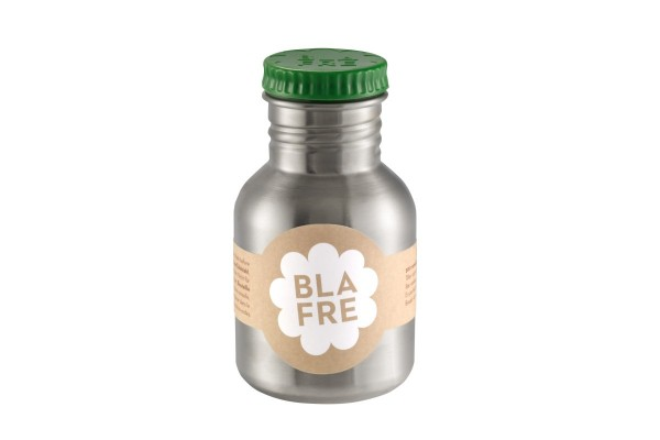 Blafre Edelstahltrinkflasche grün
