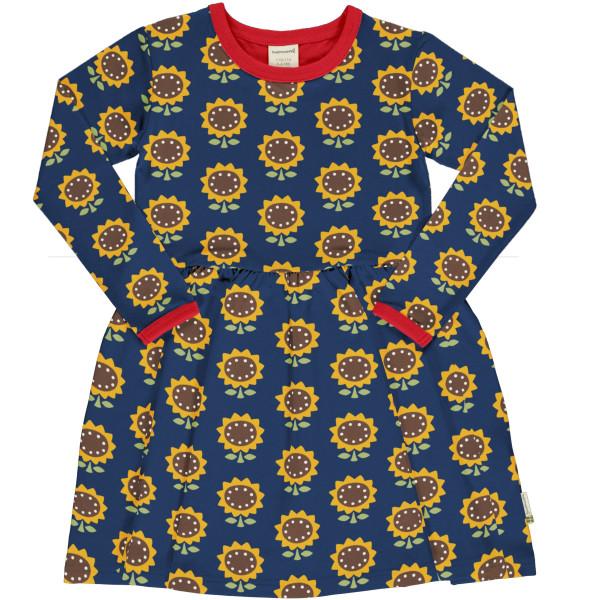 Maxomorra Langarmkleid Spin Sunflower