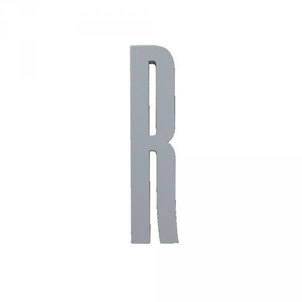Design Letters Holzbuchstaben grau