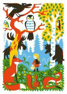 Kehvola Karte Metsä (Wald)