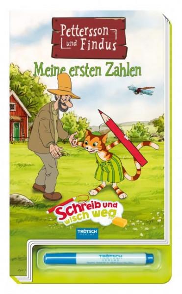 """Buch - Petterson und Findus Meine ersten Zahlen """"Schreibe und wisch weg"""""""