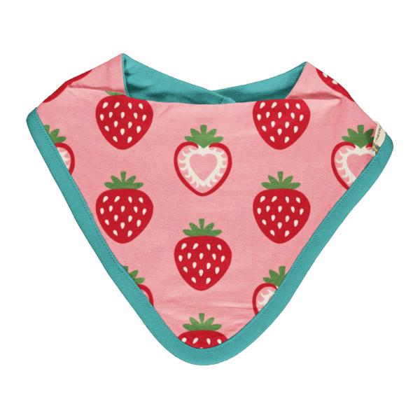 Maxomorra Dreiecktuch Strawberry