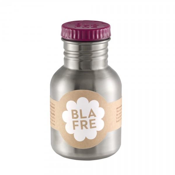 Blafre Edelstahltrinkflasche plaumenrot