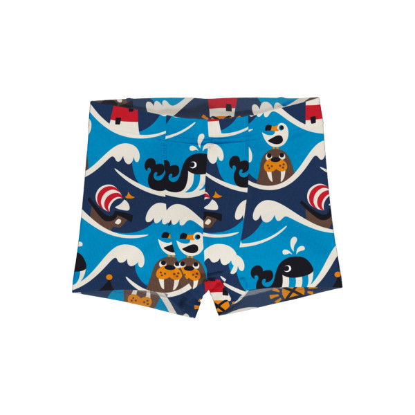 Maxomorra Boxer Shorts Ocean