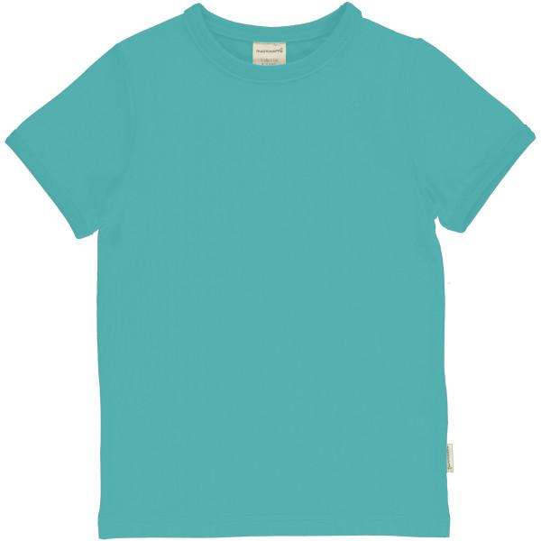 Maxomorra T-Shirt Kurzarm Aqua